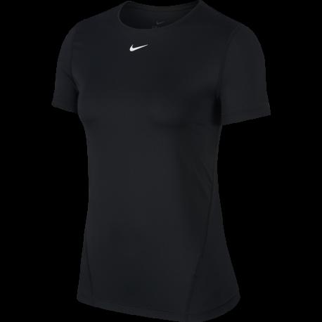 Nike Maglietta Palestra Train Pro Nero Donna