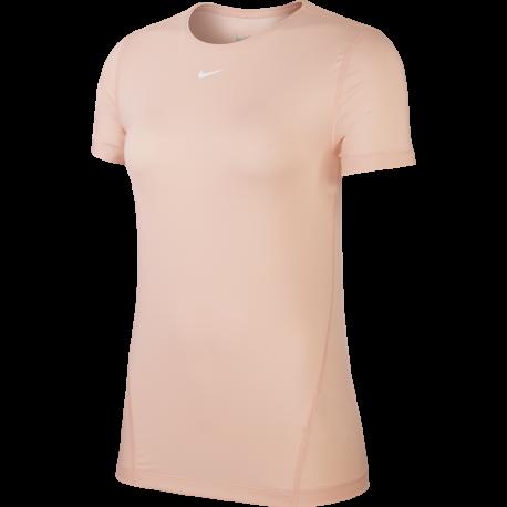 Nike Maglietta Palestra Train Pro Rosa Donna