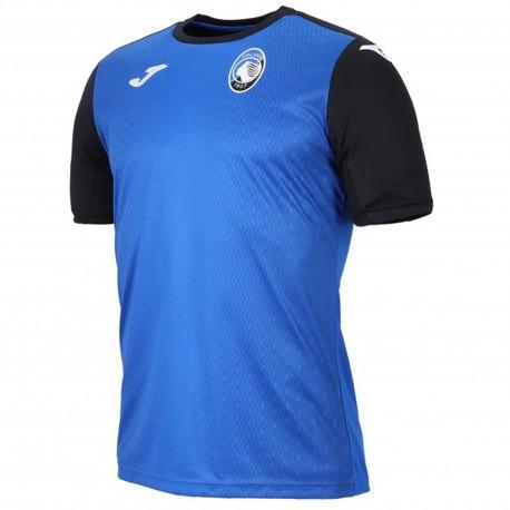 Joma Sport T-Shirt Mm Atalanta Training Azzurro/Nero