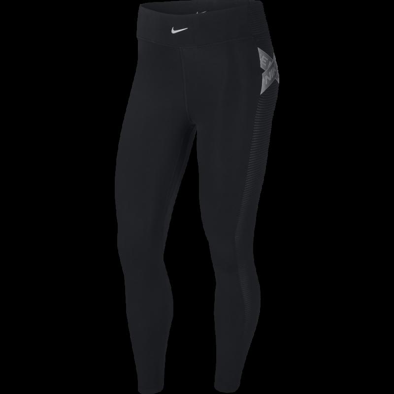 Nike Leggings Sportivi Trin Nero Donna