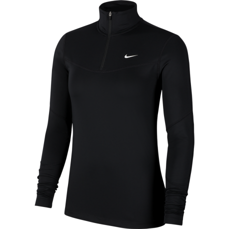Nike Felpa Palestra Train Gold Nero Donna