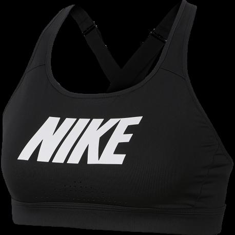 Nike Reggiseno Sportivo Strappy Nero Donna