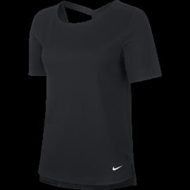Nike Maglietta Palestra Elastika Train Nero Donna