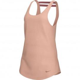 Nike Canotta Palestra Elastika Rosa Donna
