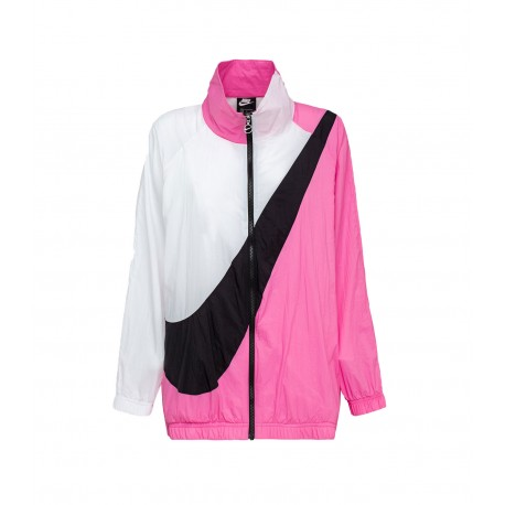 Nike Giacca Sportiva Wovent Rosa Donna