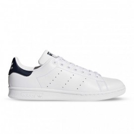 ADIDAS originals sneakers stan smith lea bianco blu uomo