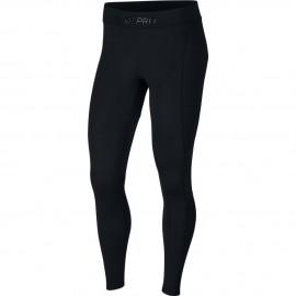 Nike Leggings Sportivi Paillette Nero Donna