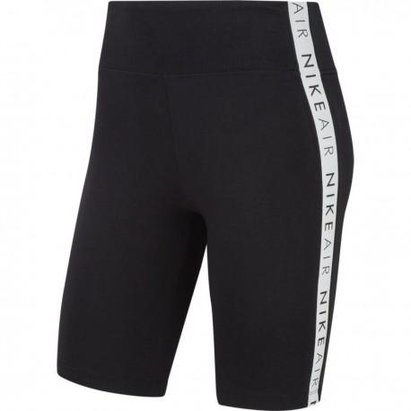 Nike Pantaloncino Palestra Ciclista Nero Donna