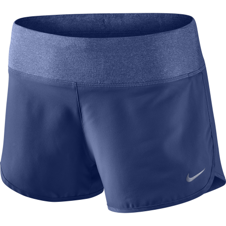 "Nike Short 3"" Run Rival Royal/Silver Donna"