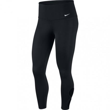 Nike Leggings Sportivi Yoga Nero Donna