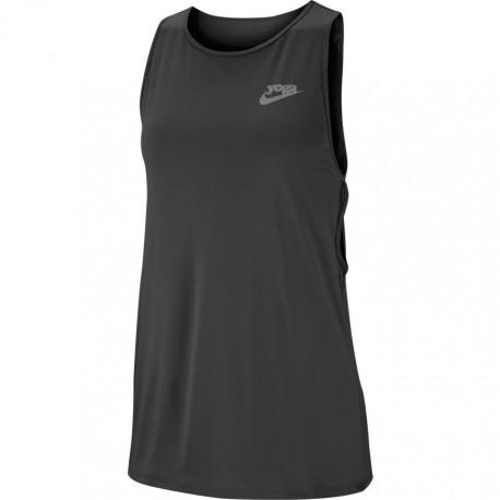 Nike Tank Yoga Nero Donna