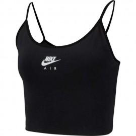 Nike Reggiseno Sportivo Logo Nero Donna