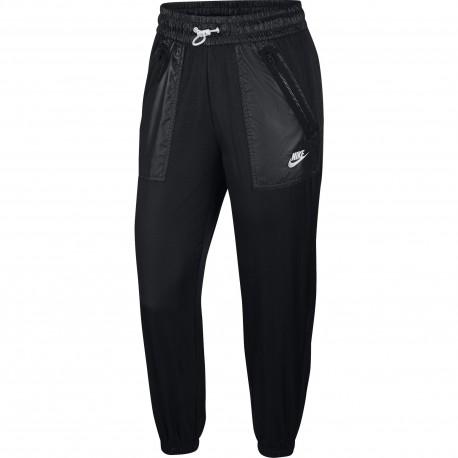 Nike Pantalone Palestra Wovent Cargo Rebel Nero Donna