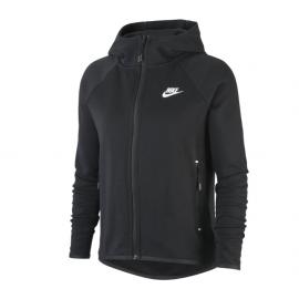 Nike Felpa Palestra Capp Svasata Tech Fleece Nero Donna