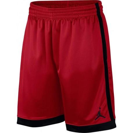 Nike Pantaloncino Palestra Jumpan Jordan Rosso Uomo