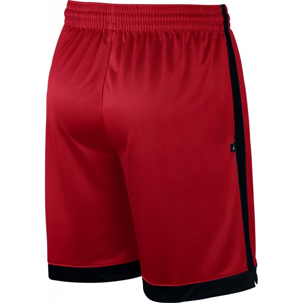 huge discount 509bf 4c4be Nike Pantaloncino Palestra Jumpan Jordan Rosso Uomo