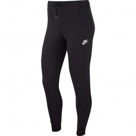 Nike Leggings Sportivi Fleece Nero Donna