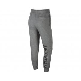 Nike Pantalone Palestra Logo Jordan Classic Grigio Uomo