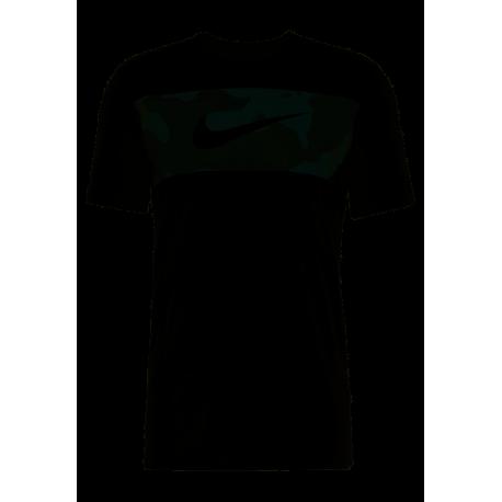 Nike Maglietta Palestra Stampa Camou Nero Uomo