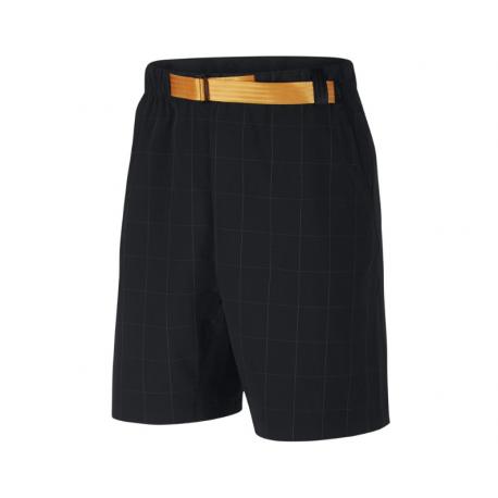Nike Pantaloncino Palestra Quadri Tech Pack Nero Uomo