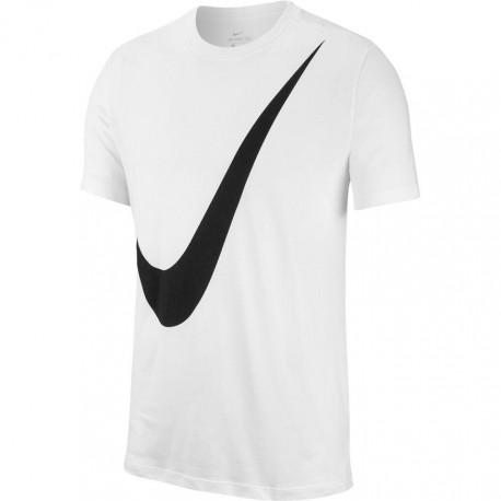 Nike Maglietta Palestra Big Swoosh Nero Donna