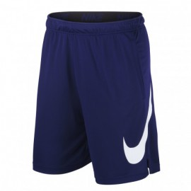Nike Pantaloncino Palestra 4.0 Train Swoosh Royal Donna