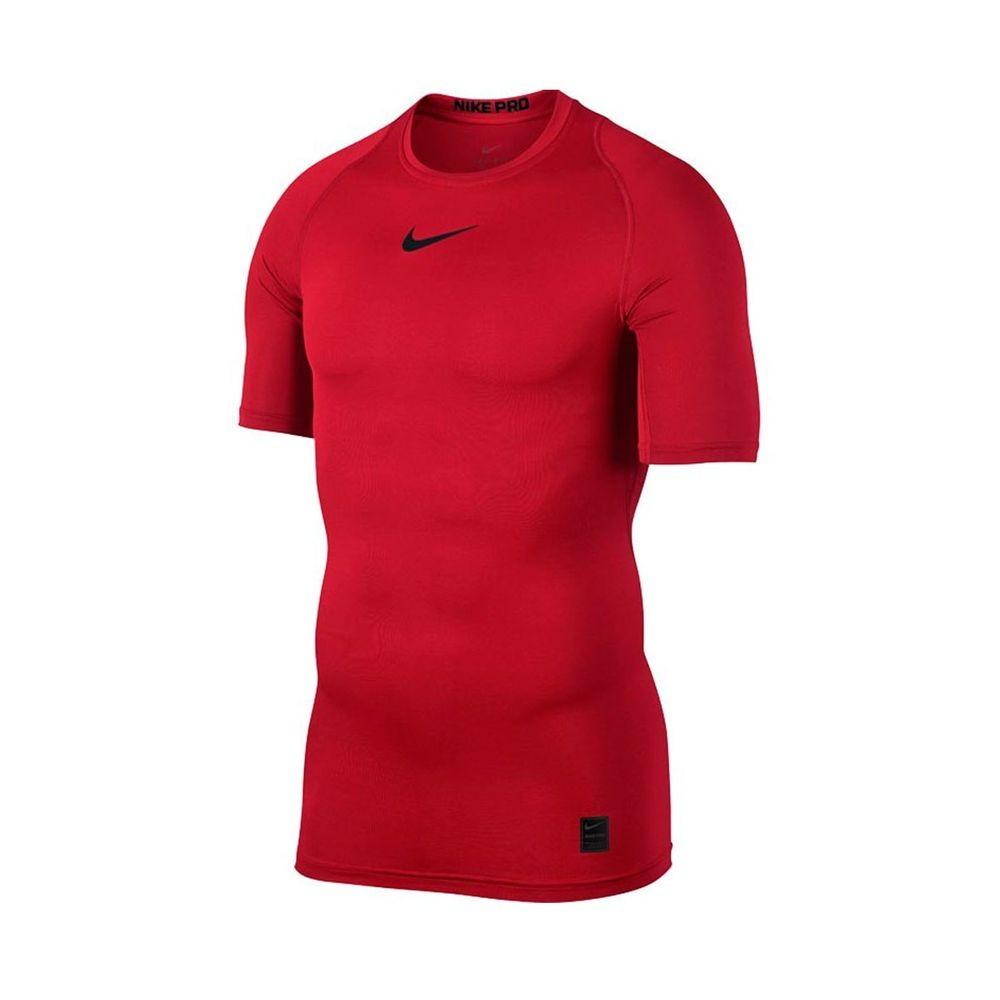 Nike Maglietta Palestra Pro Train Com Rosso Uomo