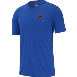 Nike Maglietta Palestra Logo Rosso Uomo