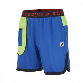 Nike Pantaloncino Palestra Wovent Sport Pack Blu Donna