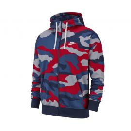 Nike Felpa Palestra Con Cappuccio Camouflage Uomo