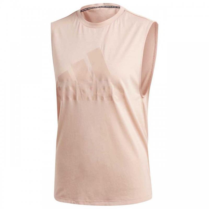 ADIDAS canotta palestra rosa donna
