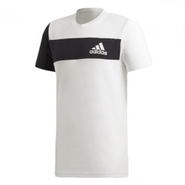 ADIDAS maglietta palestra bmd bianco uomo