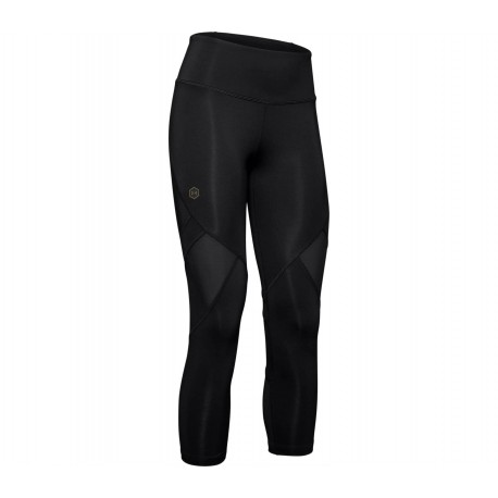 Under Armour Leggings Sportivi 3/4 Rush Nero Donna