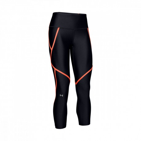 Under Armour Leggings Sportivi 3/4 Edgelit Nero Donna