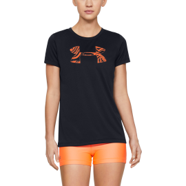 Under Armour Maglietta Palestra Logo Graphic Nero Donna