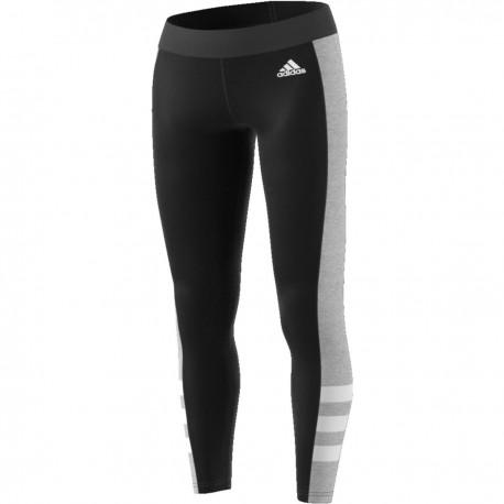 ADIDAS leggings sportivi nero donna