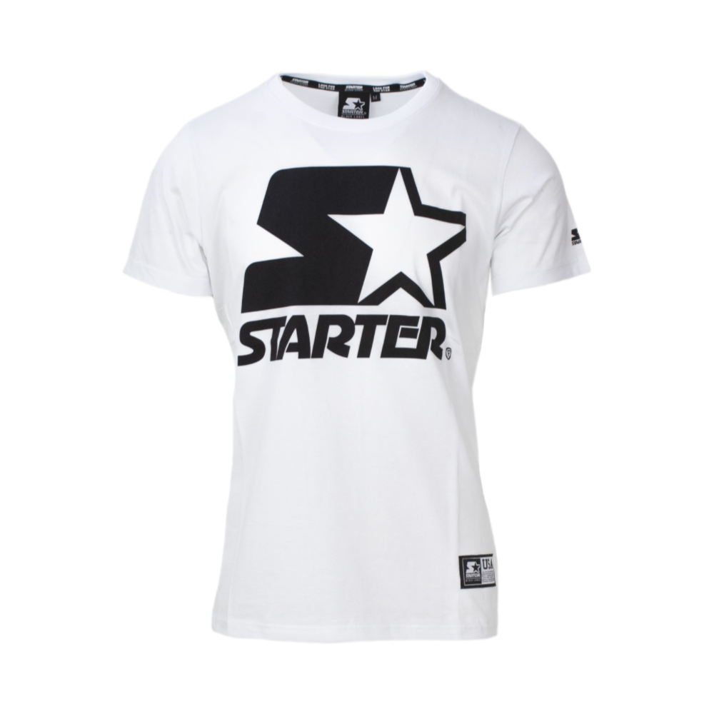 Starter Maglietta Palestra Logo Bianco Uomo Acquista