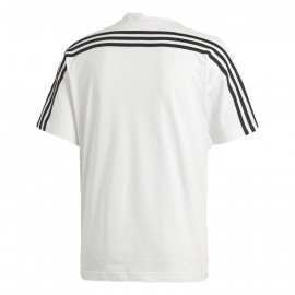 ADIDAS maglietta palestra bianco uomo