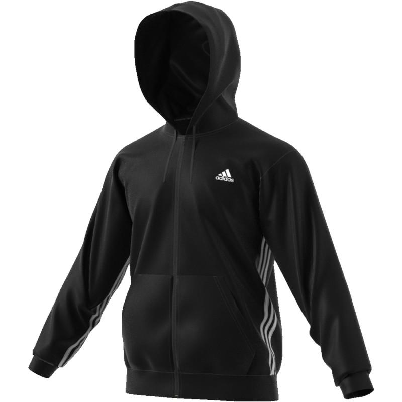 nero adidas hoodie uomo