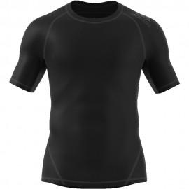 ADIDAS maglietta palestra alphaskin nero uomo