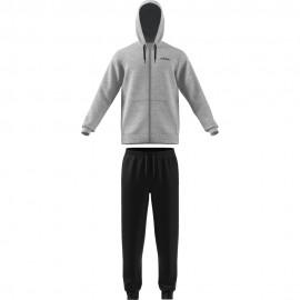 ADIDAS tuta sportiva cap/zip grigio uomo