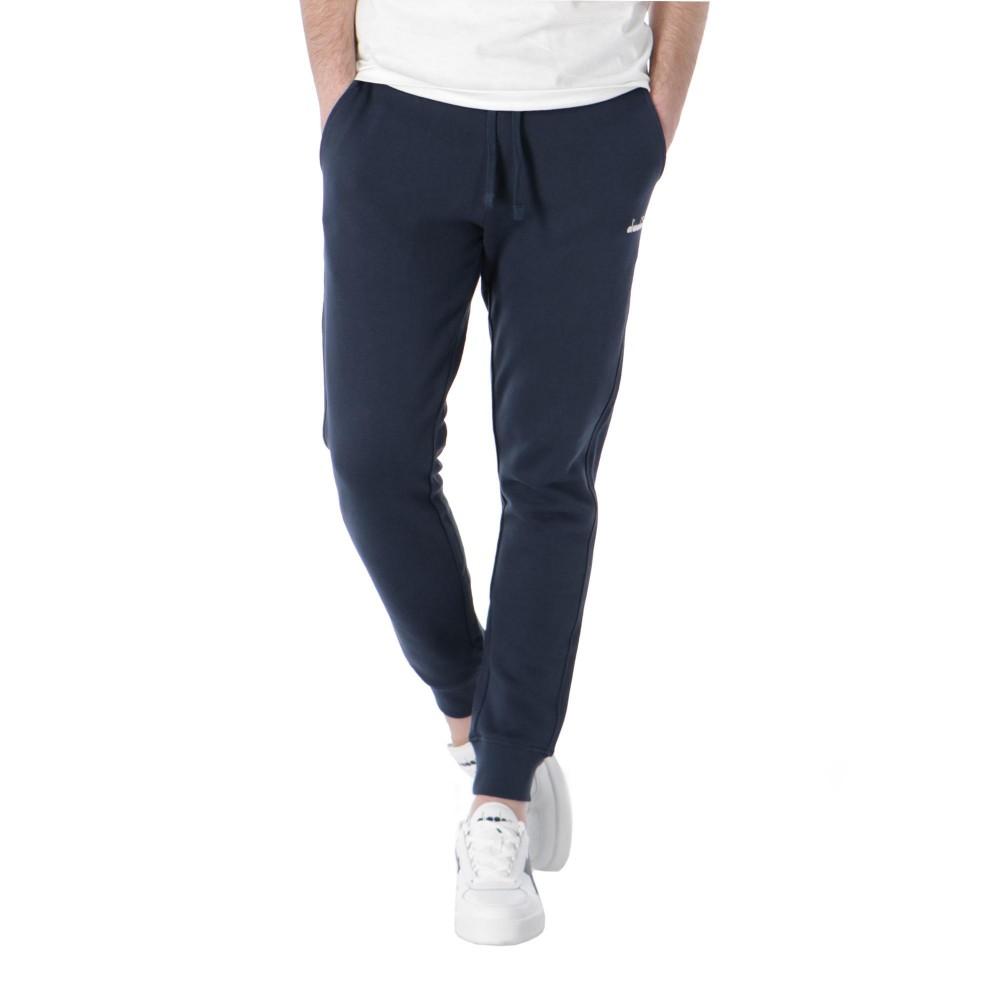 Diadora Pantalone Palestra Logo Piccolo Blu Uomo Acquista