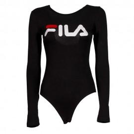 Fila Body Logo Manica Lunga Nero Donna
