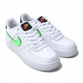 Nike Sneakers Air Force 1 Lv8 3 Gs Bianco Nero Bambino