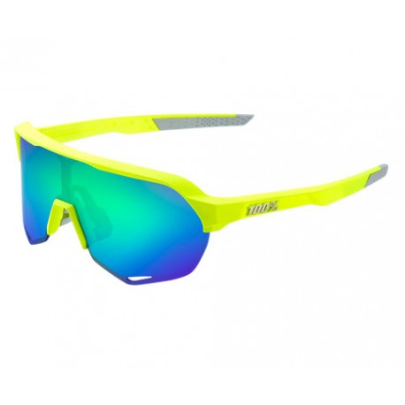 100% Occhiale S2 Matte Fluorescent Yellow