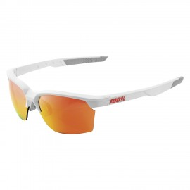 100% Occhiale Sportcoupe Soft Tact White