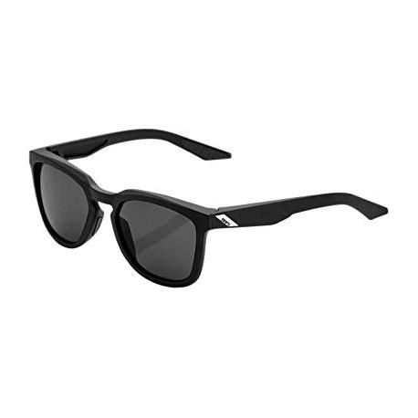 100% Occhiali Ciclismo Hudson Soft Tact Nero Smoke