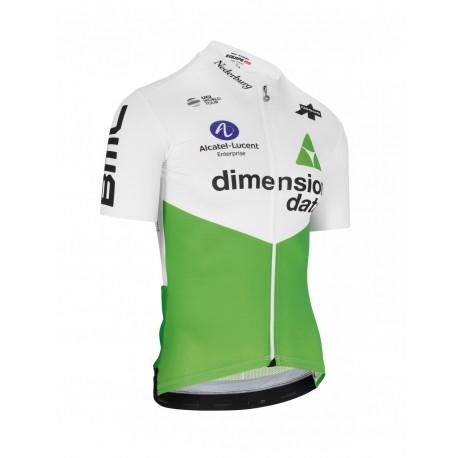 Assos Maglia Ciclismo Dimension Data Rs Bianca Verde Uomo