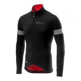 Castelli Maglia Ciclismo Nelmezzo Ros Nero Rosso Uomo
