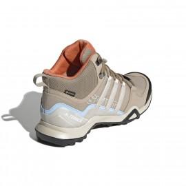 Adidas Pedule Trekking Terrex Swift R2 Mid Gtx Beige Donna